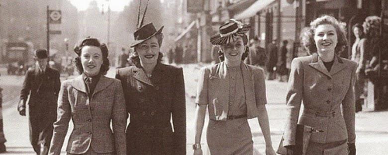 Amato Moda anni '40: Rossetto, filo spinato e indifferenza  UF77