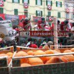 Carnevale di Ivrea: la battaglia in Piazza di Città