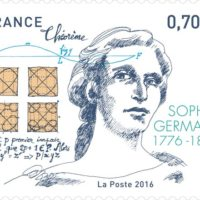 francobollo commemorativo di Sophie Germain