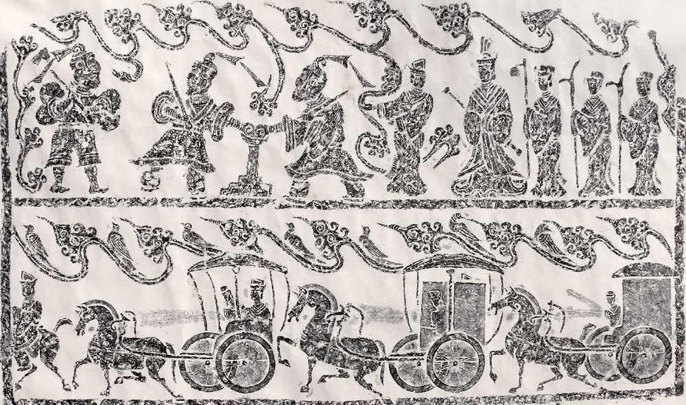 Pittura cinese - Pittura risalente alla Dinastia Han