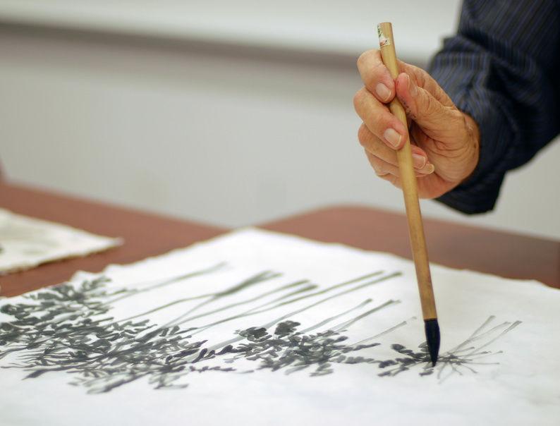 Pittura cinese - Postura della mano
