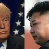 Kim Jong-un vs Trump
