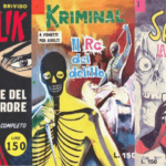 Copertine originali Diabolik, Kriminal, Satanik