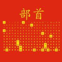 tavola dei radicali cinesi