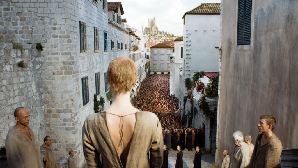 Cersei's Walk of Shame