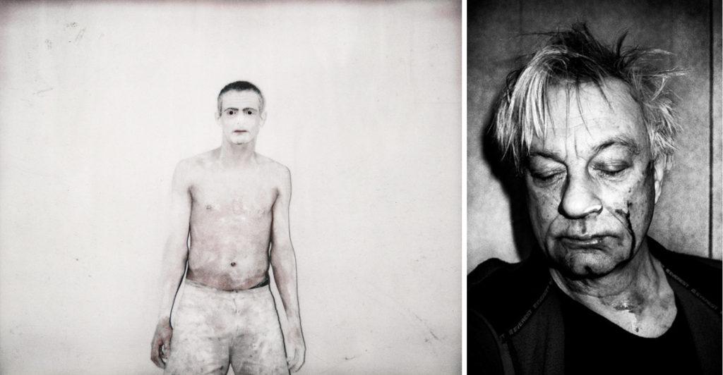 Antoine D'Agata & Anders Petersen, self-portrait