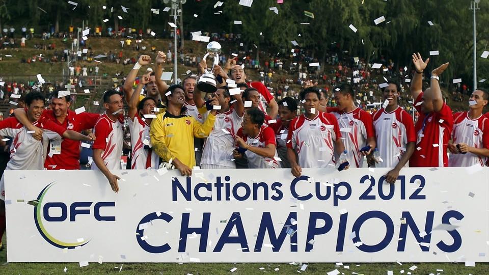 Tahiti campione d'Oceania