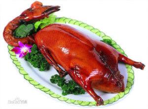 Oca arrosto, specialità della cucina cinese Yue.