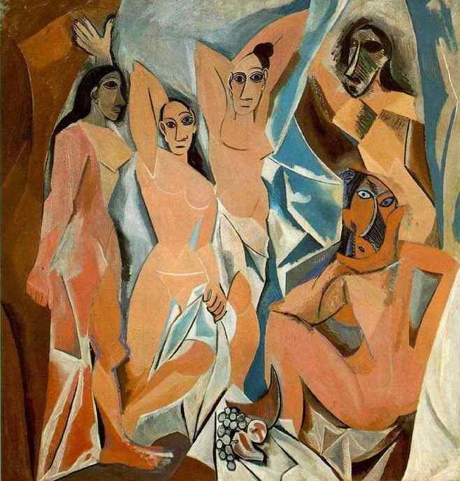Picasso - Les Demoiselles d'Avignon