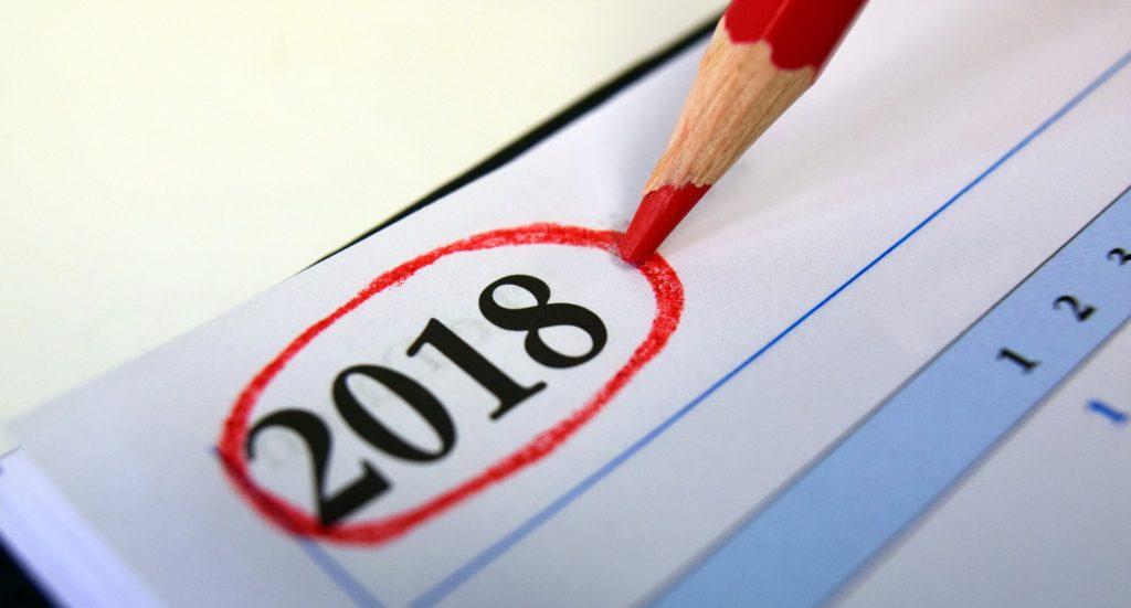 tutti i numeri del 2018