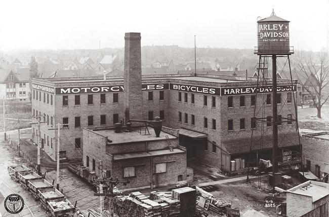 milwaukee fabbrica harley-davidson