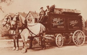 Milwaukee Miller Brewing Co, prime consegne