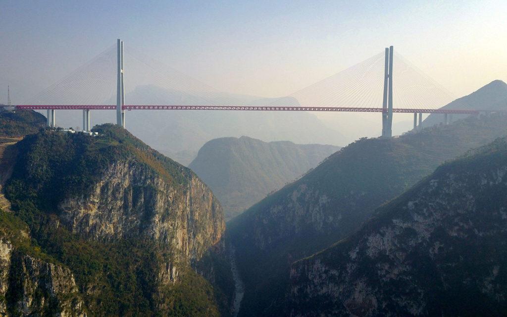 Beipanjiang ponti artificiali