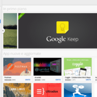 Chromebook: il Web Store