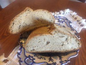 Forma di pane tagliata