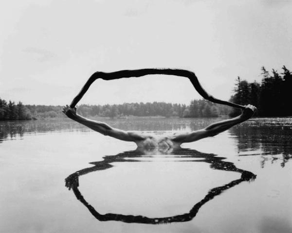 Sciamani ©Arno Rafael Minkkinen, Fosters Pond, 1993.