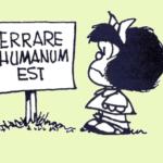 Tema del mese: errare humanum est
