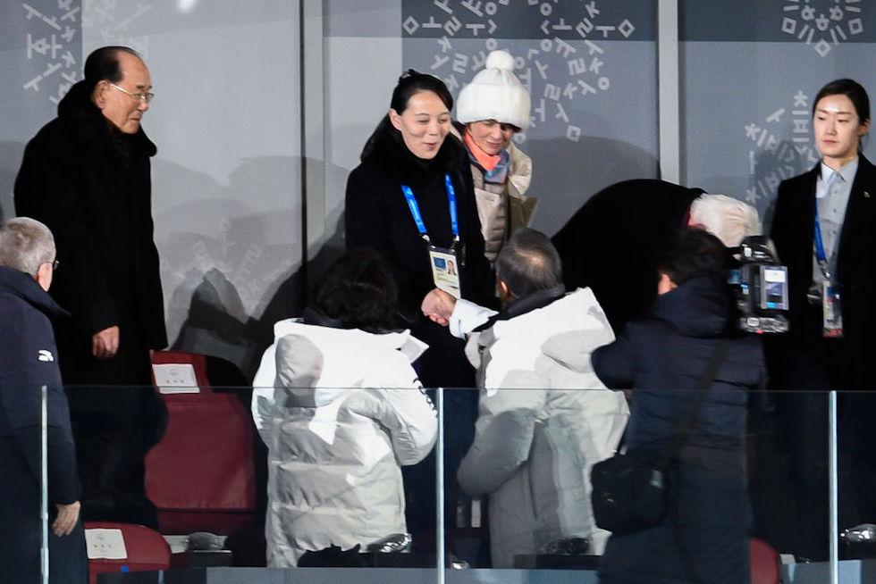 Stretta mano Pyeongchang 2018