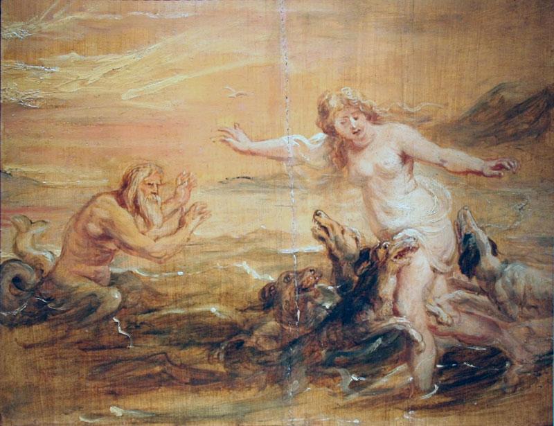 Scilla e Glauco - Rubens