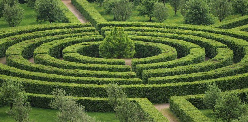 Giardini Labirinto Perdersi Un Attimo Inchiostro Virtuale