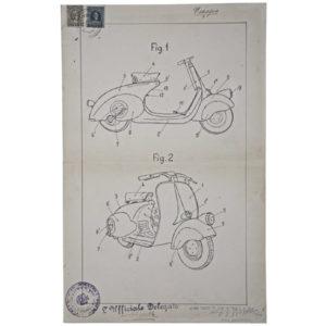 vespa brevetto