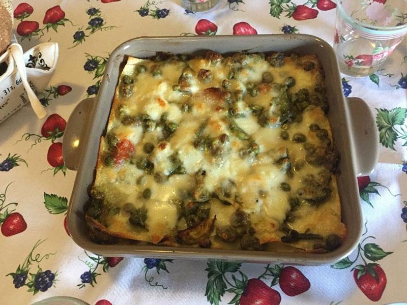 Verde Primavera: lasagne agli asparagi