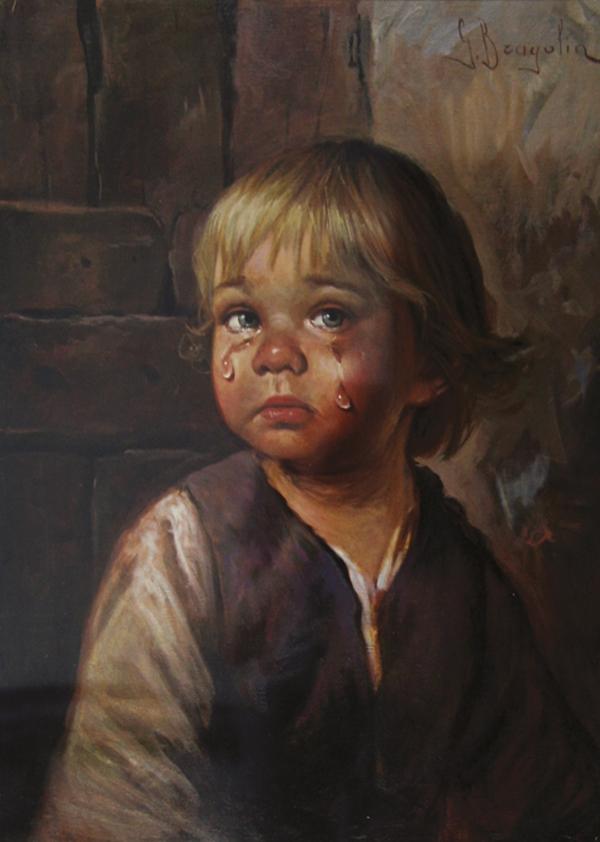 horror bambino che piange