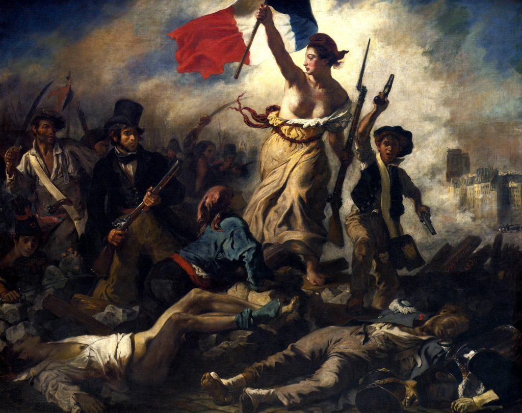 storia Eugene Delacroix