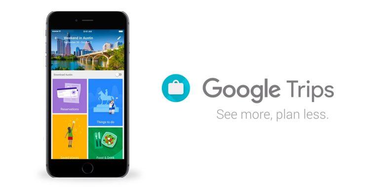 immagine google-trip app