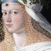 Bartolomeo Veneto, Ritratto di Lucrezia Borgia