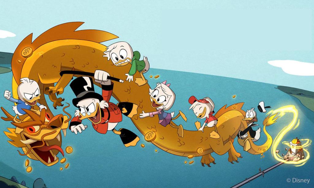 Sigle Disney in cinese - Duckatales © Disney