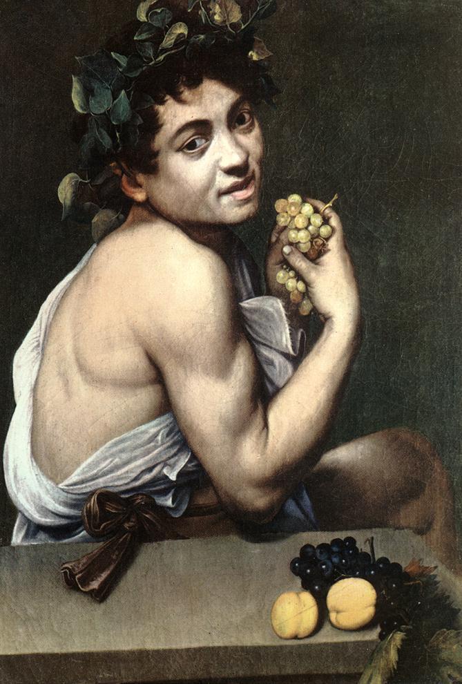 """ALT=""""Bacco Caravaggio"""""""