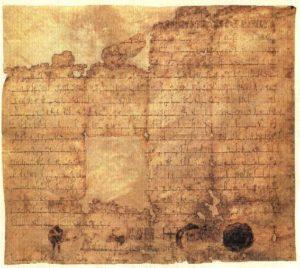 antiche università - Il Diploma di Ottone I