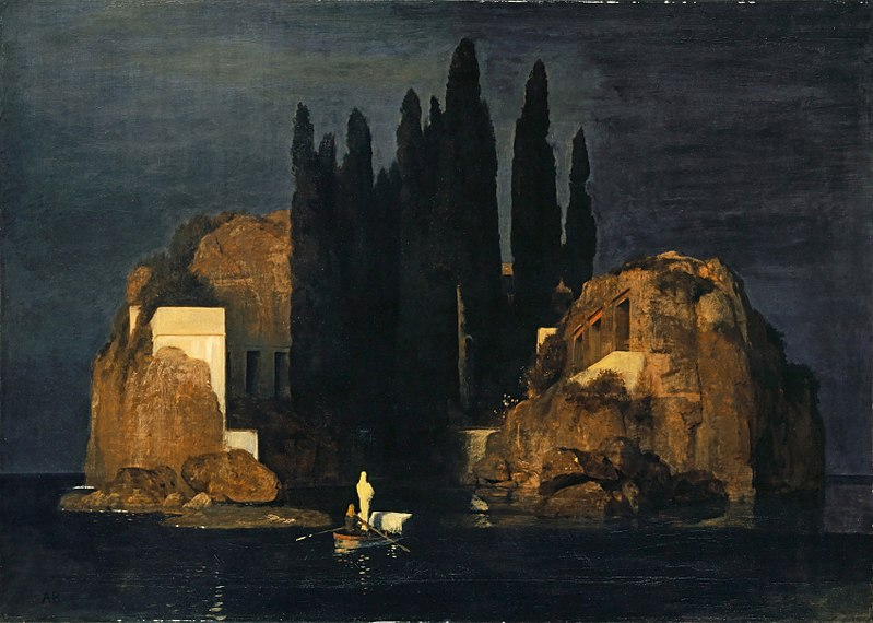 L'isola dei morti, Arnold Böcklin , 1880