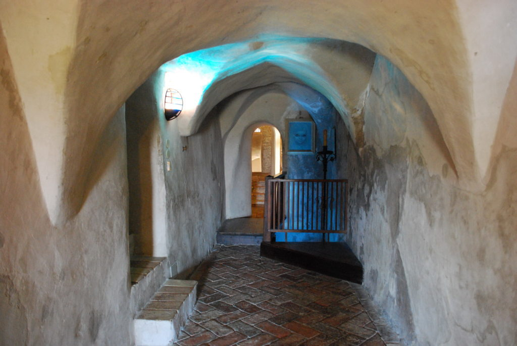 Castello di Montebello - corridoio