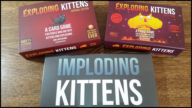 Gioco da tavolo: Exploding Kittens